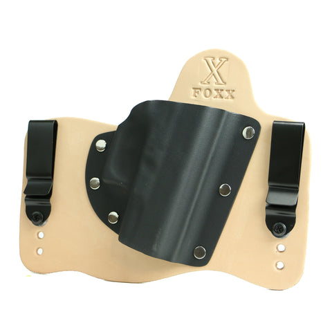 Foxx IWB Hybrid Holster (Natural Leather)