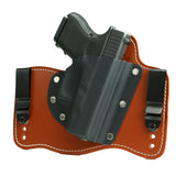Foxx Premium Rustic Leather IWB Hybrid Holster