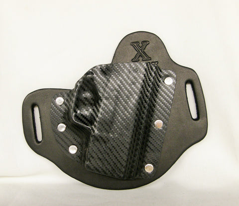 Outside the Waistband holster with Carbon Fiber Kydex