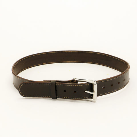 Havanna Brown Leather Gun Belt for Concealed Carry
