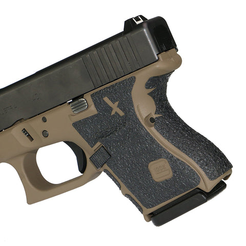 Foxx Grips For Glock 26 in FDE