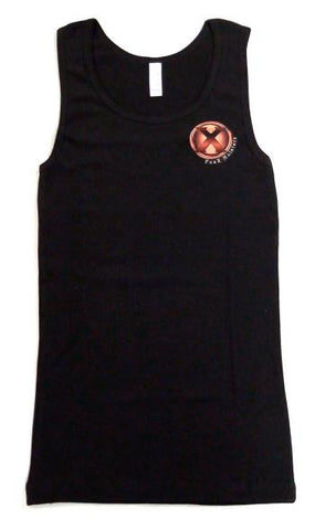 Ladies Black Tank Top