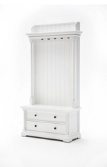Nova Solo Provence Hall Tree at Wardrobe & Armoire