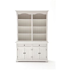 Nova Solo Provence Hutch Cabinet at Wardrobe & Armoire