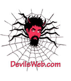 Sevils Web Logo on a t shirt