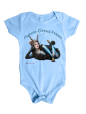 Circus Creature Freak on a Baby Onesie