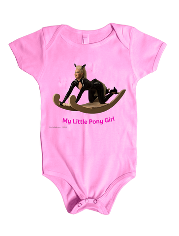 My Little Pony Adult Rocking Horse Baby Shower Gag Gift