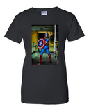 Womens - Captain America - T Shirt