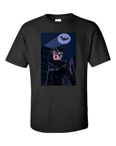 Trouble in Gotham - Batgirl Cosplay T Shirt