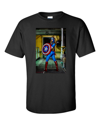 Captain America - T Shirt