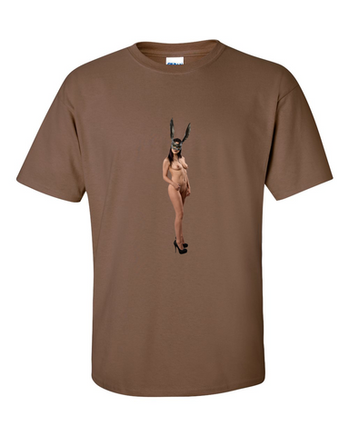 Fun Bunny - Provocative Nude girl  T Shirt