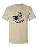 Somebody Put Something in My Drink - Naked girl in a cup t shirt