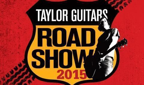 The 2015 Taylor Guitar's Road Show At Yandas Music!