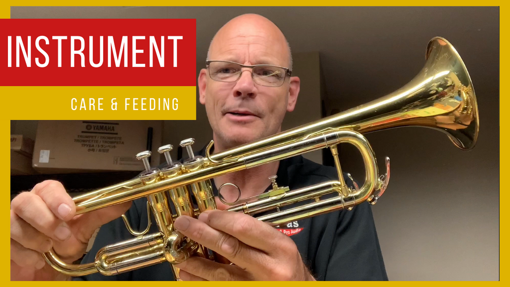 Band Instrument Care & Feeding Video Series