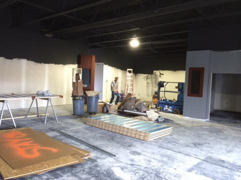 More Sneak Peaks Into The New Grand Island Store!