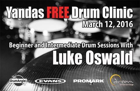2016 FREE Drum Clinic