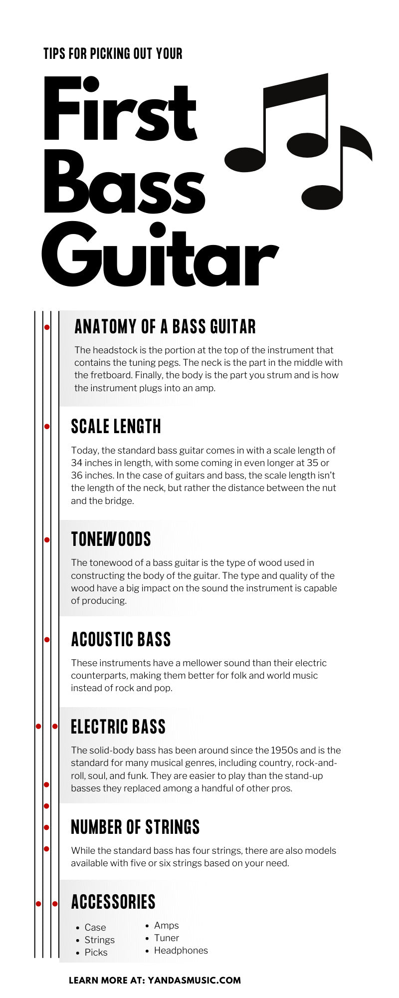 Tips for Picking Out Your First Bass Guitar