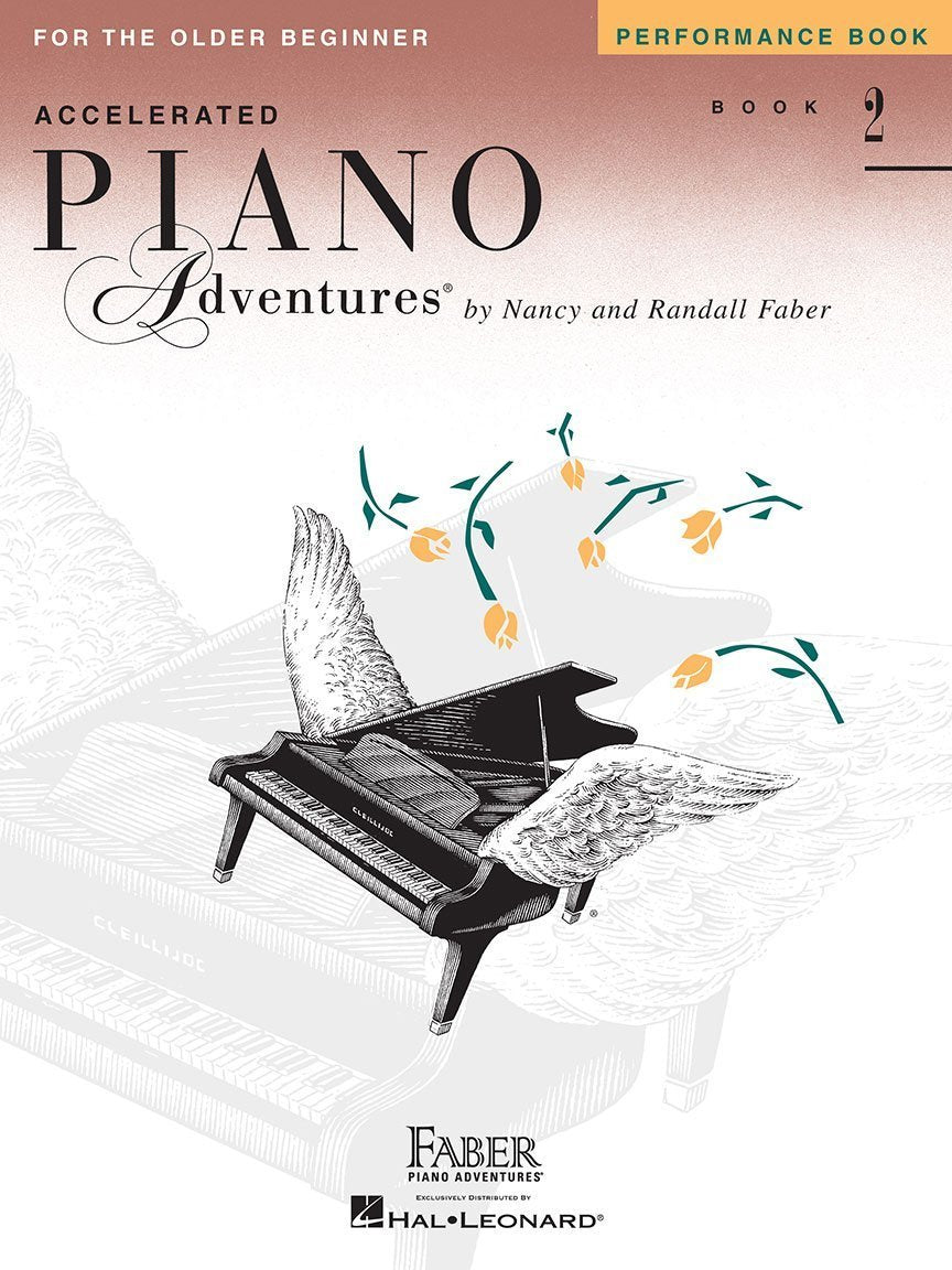 Accelerated Piano Adventures for the Older Beginner, Performance, Book 2