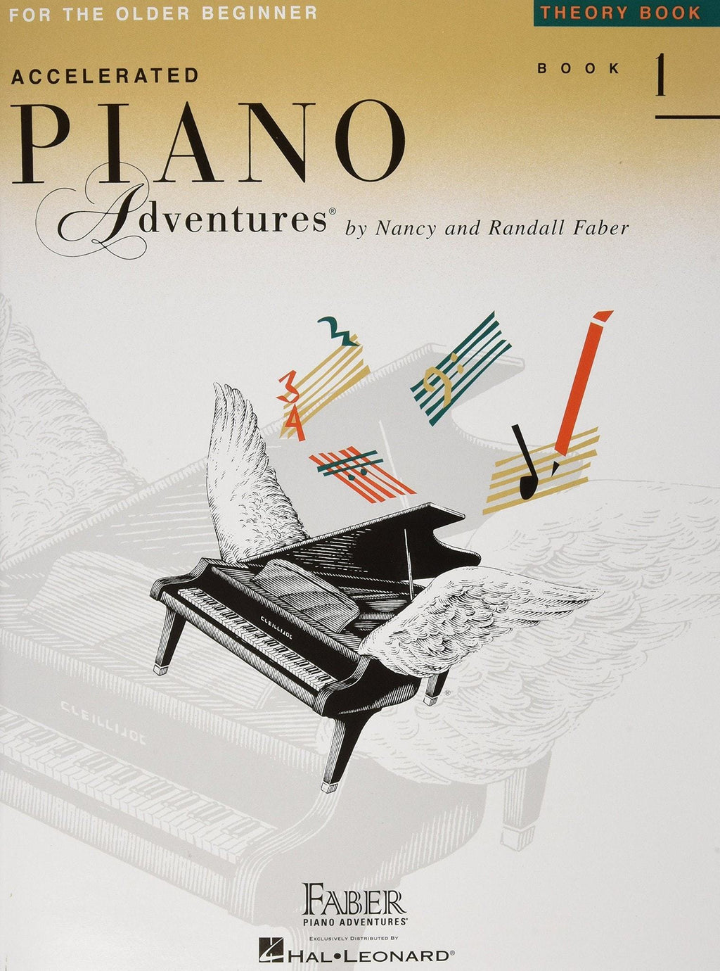 Accelerated Piano Adventures For The Older Beginner | Theory Book 1