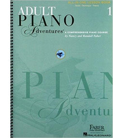 Adult Piano Adventures All-In-One | Lesson Book 1