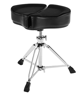 Ahead Spinal-G Drum Throne with 3 legs | Black