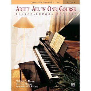 Alfred's Basic Adult All-in-One Piano Course Level 1