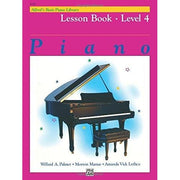 Alfred's Basic Piano Course - Lesson Book - Level 4