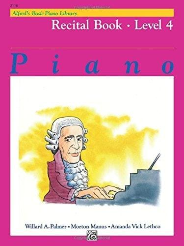 Alfred's Basic Piano Course - Recital - Level 4
