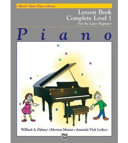 Alfred's Basic Piano Library Complete | Level 1 Lesson