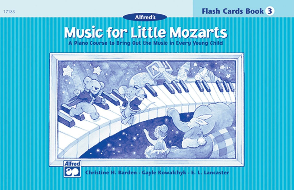 Alfred's Music For Little Mozarts | Flash Cards Level 3