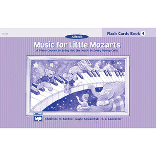 Alfred's Music For Little Mozarts - Flash Cards Level 4