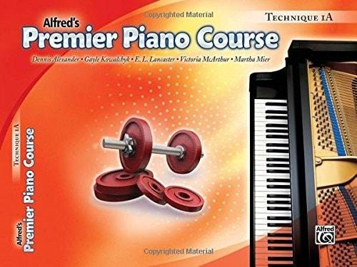 Alfred's Premier Piano Course | 1A Technique