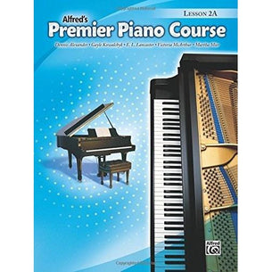 Alfred's Premier Piano Course - Lesson Book - 2A
