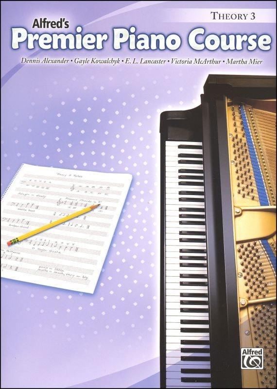 Alfred's Premier Piano Course - Theory - Book 3