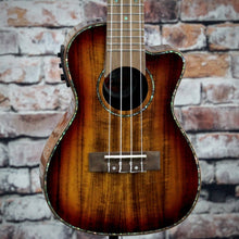 Amahi Acoustic/Electric Concert Ukulele with Cutaway | Koa
