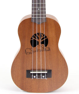 Amahi UK130 Traditional Shape Soprano Ukulele