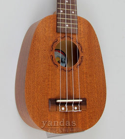 Amahi UK140 Mahogany Series Pineapple Soprano Ukulele