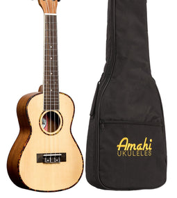Amahi UK225 Select Spruce Ukulele