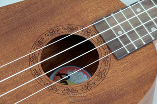 Amahi UK240S Select Mahogany Series Soprano Ukulele | Pineapple Shape