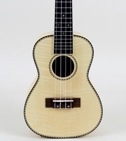 Amahi UK550C Classic Flamed Maple Concert Ukulele Without Electronics