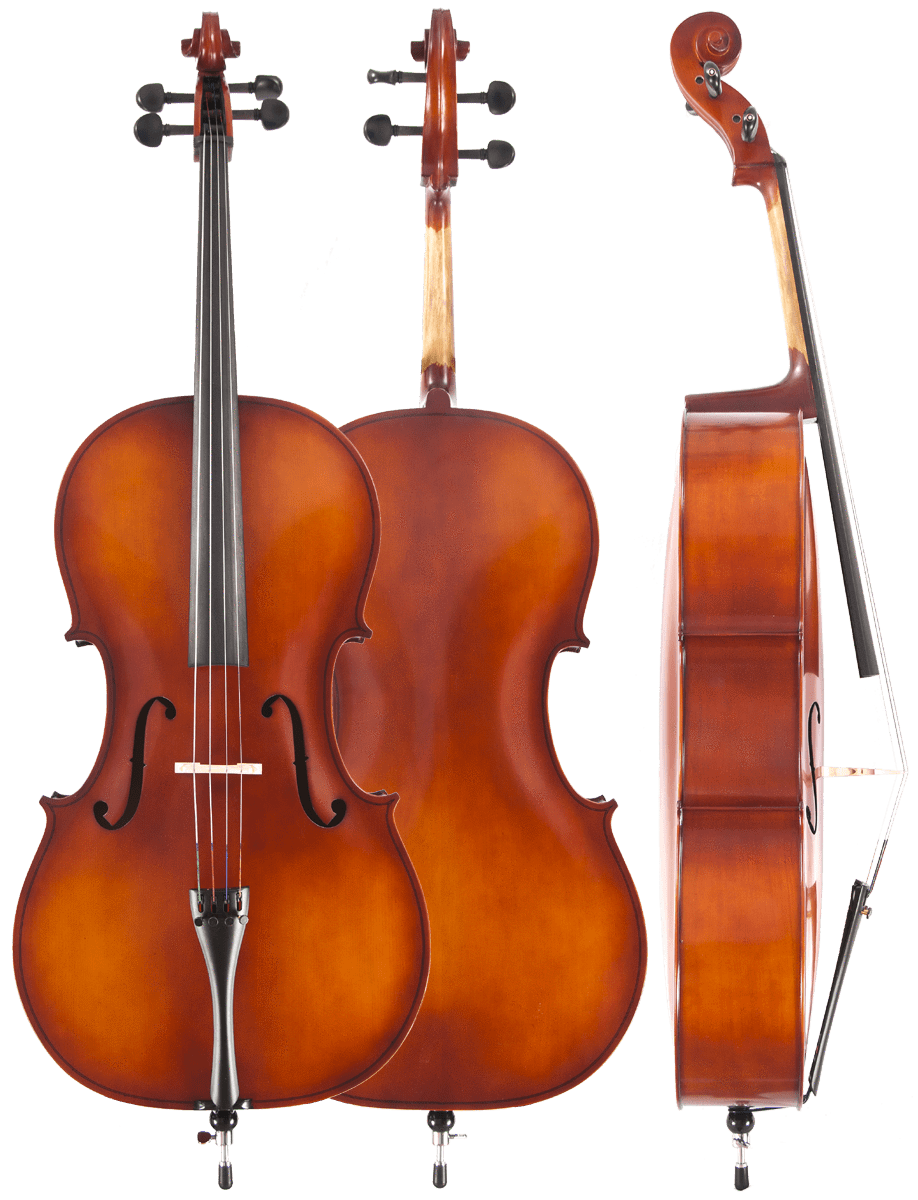 Amati's Student 1/2 Cello Outfit | #80