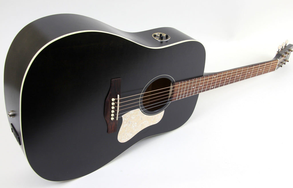 Art & Lutherie Americana Dreadnought Acoustic Electric Guitar | Faded Black