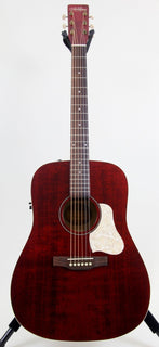 Art & Lutherie Americana Dreadnought Acoustic Electric Guitar | Tennessee Red