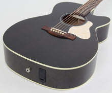 Art & Lutherie Legacy CW Faded Black Acoustic-Electric Guitar