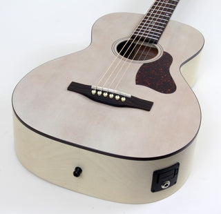 Art & Lutherie Roadhouse Parlor Acoustic-Electric Guitar | Faded Cream