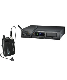 Audio Technica ATW-1301/L System 10 Rack-Mount Lavalier Wireless Microphone