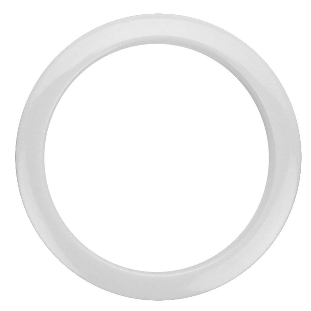"Bass Drum O's Port Hole Ring - 4"" - White"