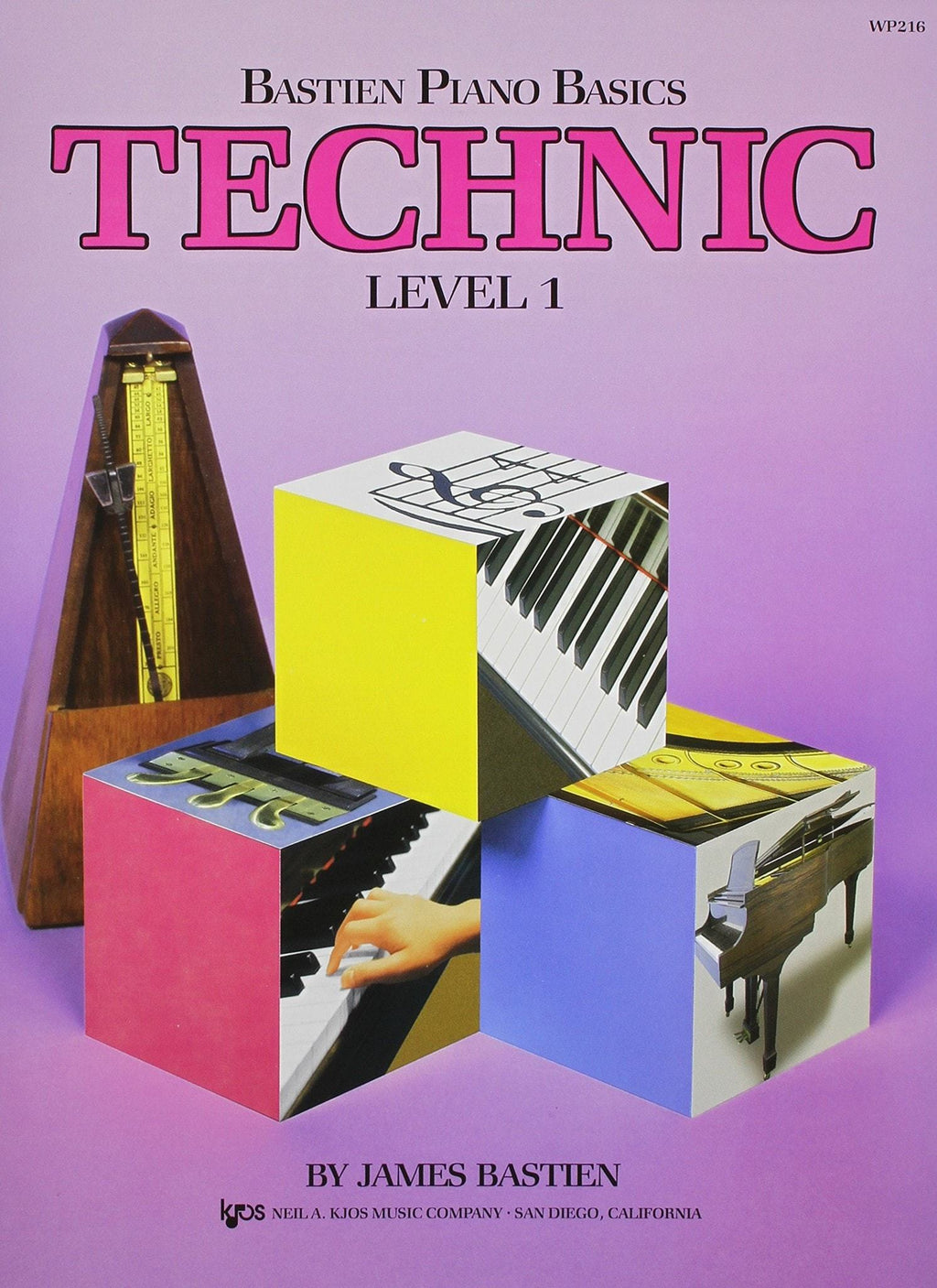 Bastien Piano BasicsTechnique - Level 1 - bastien piano basics technic 1
