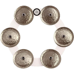 Big Fat Snare Drum Bling Ring for Hi-Hats & Cymbals - White Copper