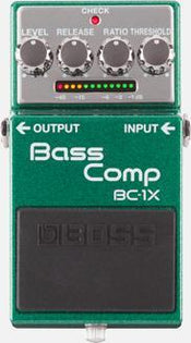 Boss BC-1X Bass Compressor Effect Pedal